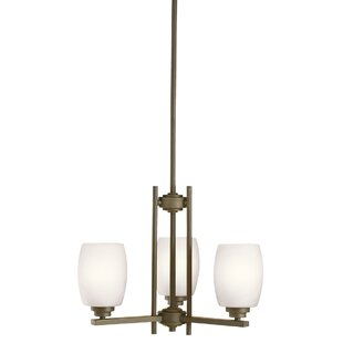 Brayden Studio Esmont 3-Light Shaded Chandelier
