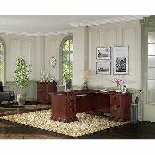 Kathy Ireland L-Shape Executive Desk