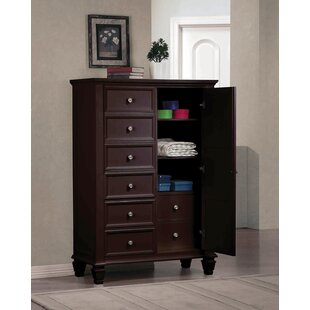 Darby Home Co Paulina 8 Drawer Gentleman..