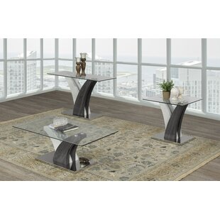 Currier 3 Piece Coffee Table Set