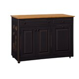 Elize Kitchen Cart by August Grove®