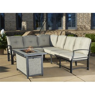 Genial Pavilion Aluminum Sectional With Cushions