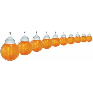 20 ft. 10-Light Globe String Light by Polymer Products