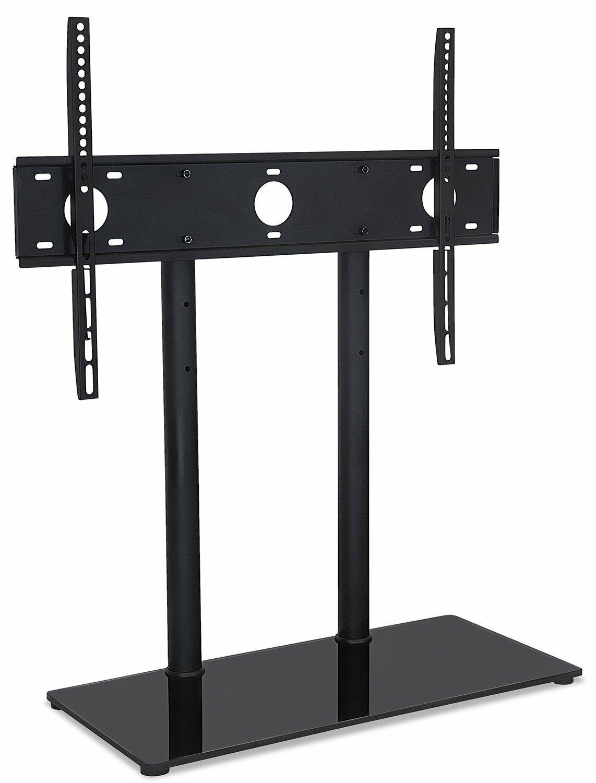 Mount It Universal Tabletop Tv Stand And Av Media Fixed Desktop