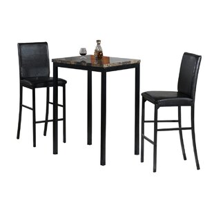 3 Piece Bistro Pub Table Set