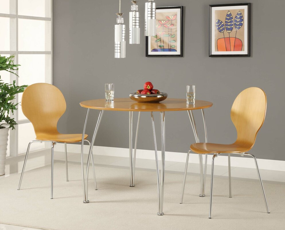 Kitchen sets with swivel chairs - Bentwood Round Chair Set Of 2
