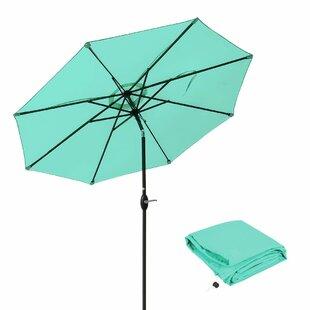 Ludie Aluminum 9' Market Umbrella by Freeport Park