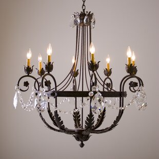 2nd Ave Design Antonia 8-Light Shaded Chandelier