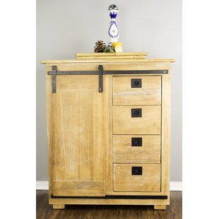 Sagar 4 Drawer 1 Door Accent Cabinet by Gracie Oaks