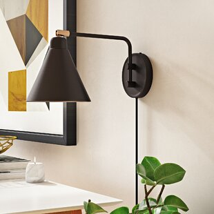 Wrought Studio Diedrich 1-Light Swing Arm Lamp