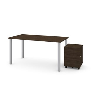 Symple Stuff Ally 2 Piece Desk Office Suite