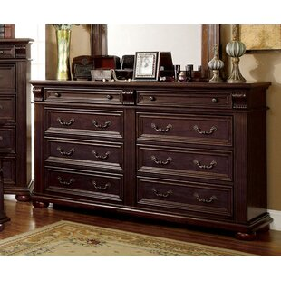 Astoria Grand Millers 8 Drawer Double Dresser