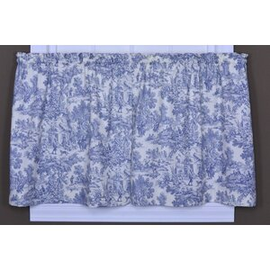 Lablanc Toile Tier Curtain (Set of 2)