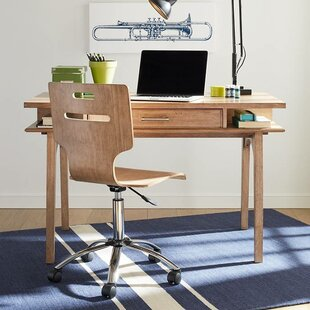 Chelsea Square Solid Wood Writing Desk and Chair