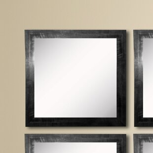 Find a Kimzey Black Smoke Wall Mirror (Set of 4) ByCharlton Home