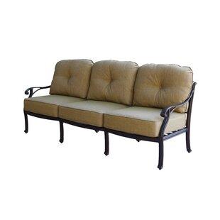 Fleur De Lis Living Lincolnville Deep Seating Sofa with Cushion