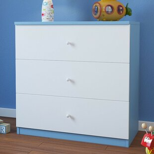 Caswell 3 Drawer Dresser By Zipcode Design