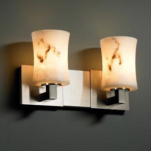 Brayden Studio Keyon 2-Light Vanity Light