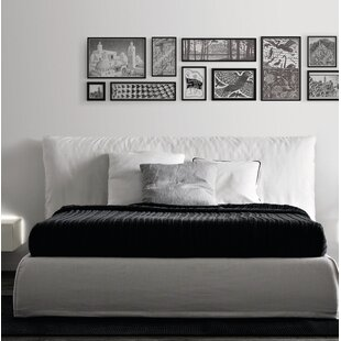 Piumotto Upholstered Platform Bed