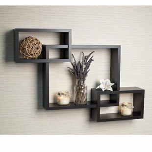 Smyrna Intersecting Wall Shelf by Brayden Studio