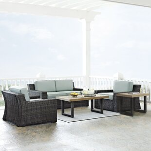 Linwood 5 Piece Sofa Set with Cushions