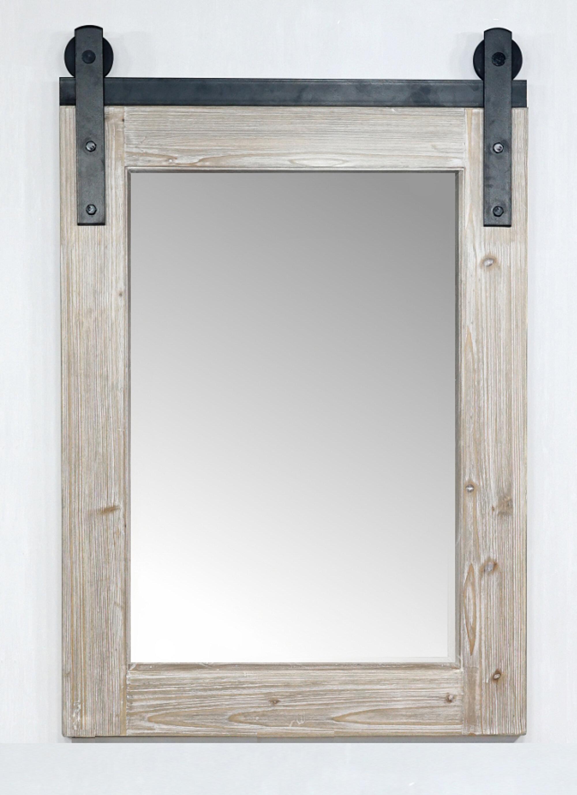 Gracie Oaks Cord Modern Farmhouse Bathroom Vanity Mirror Reviews Wayfair