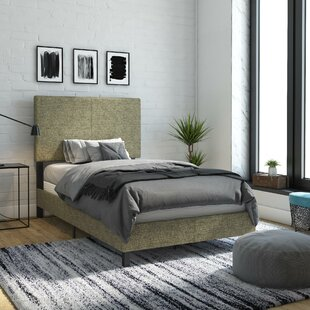 Cowell Upholstered Panel Bed by Hashtag Home