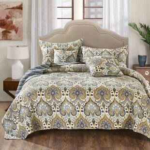 Hester Quilted Coverlet Bedspread Set