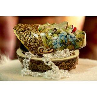 'Flower Man of Bali' Jewelry Box By Novica