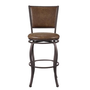 Stuck 30.5 Swivel Bar Stool Williston Forge