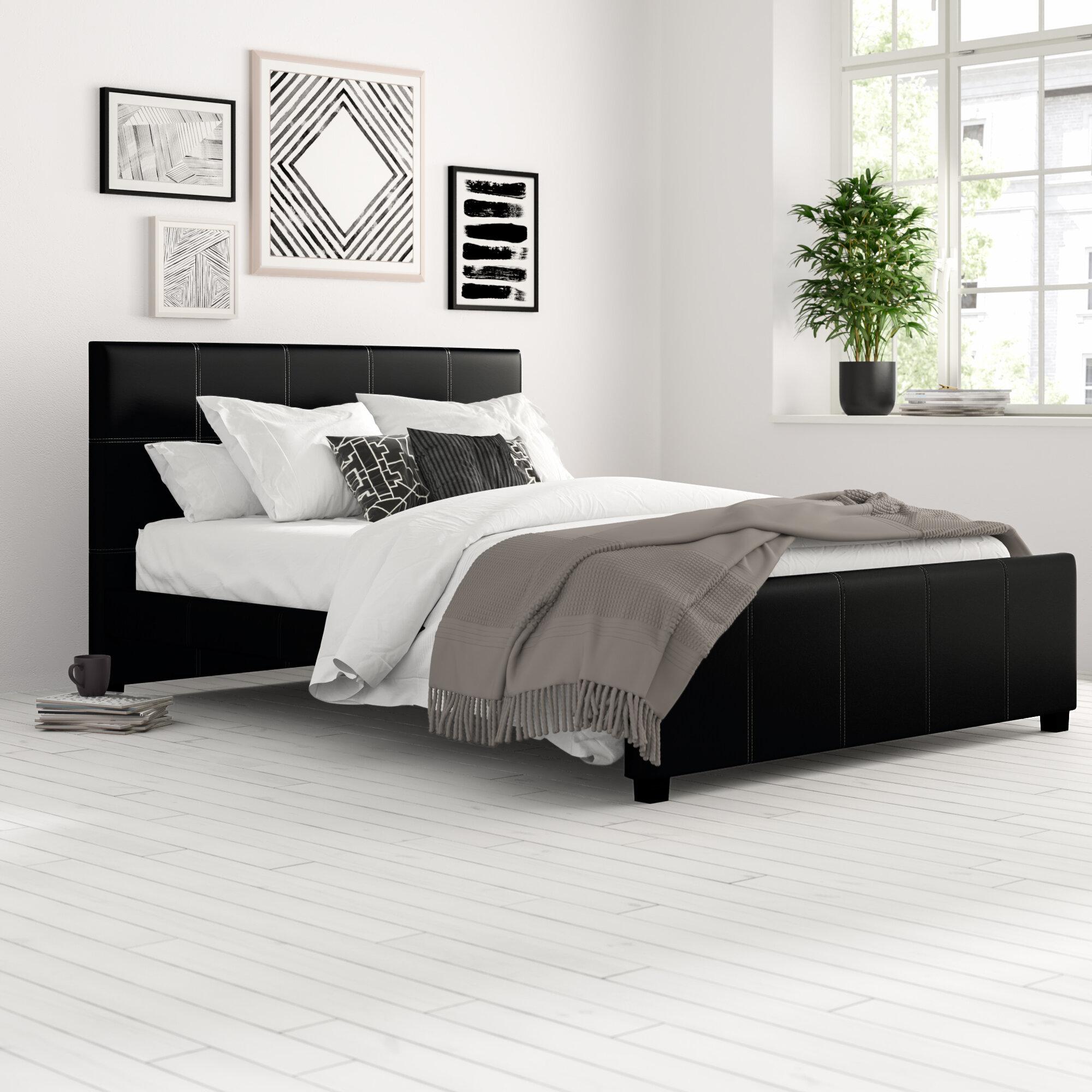 Zipcode Design Jazmine Upholstered Platform Bed Reviews Wayfair
