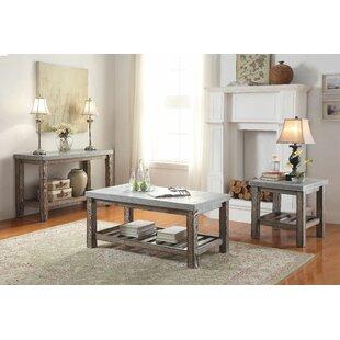 Gracie Oaks Mulga 3 Piece Coffee Table Set