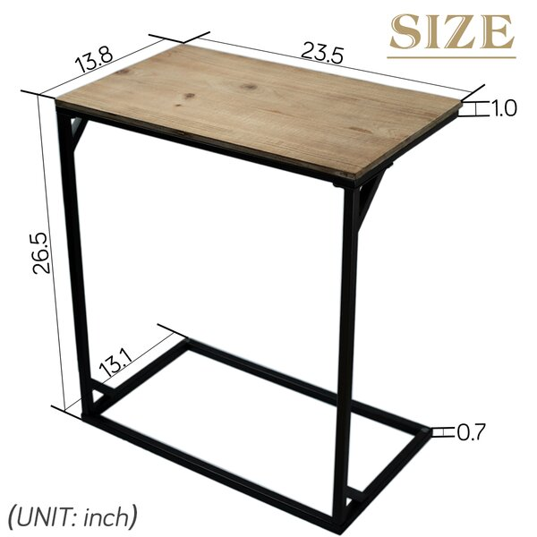 Jusino C Table End Table