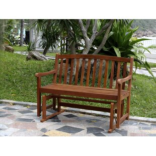 Worcester Glider Wood Garden Bench