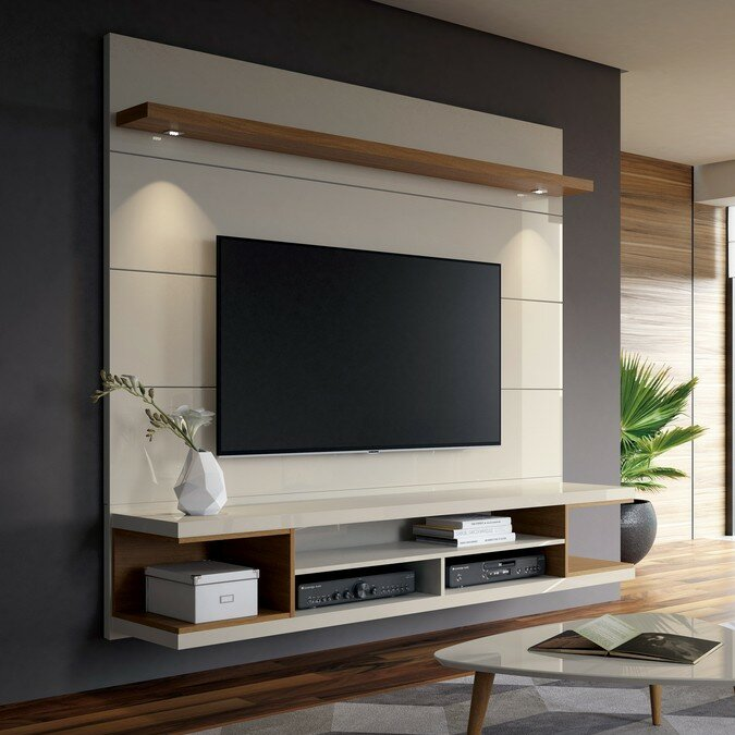 Lemington Floating Entertainment Center For T Vs Up To 60 Inches by George Oliver