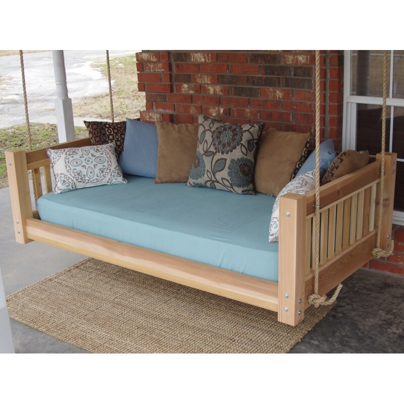 Hanging Daybed Rope Porch Swing