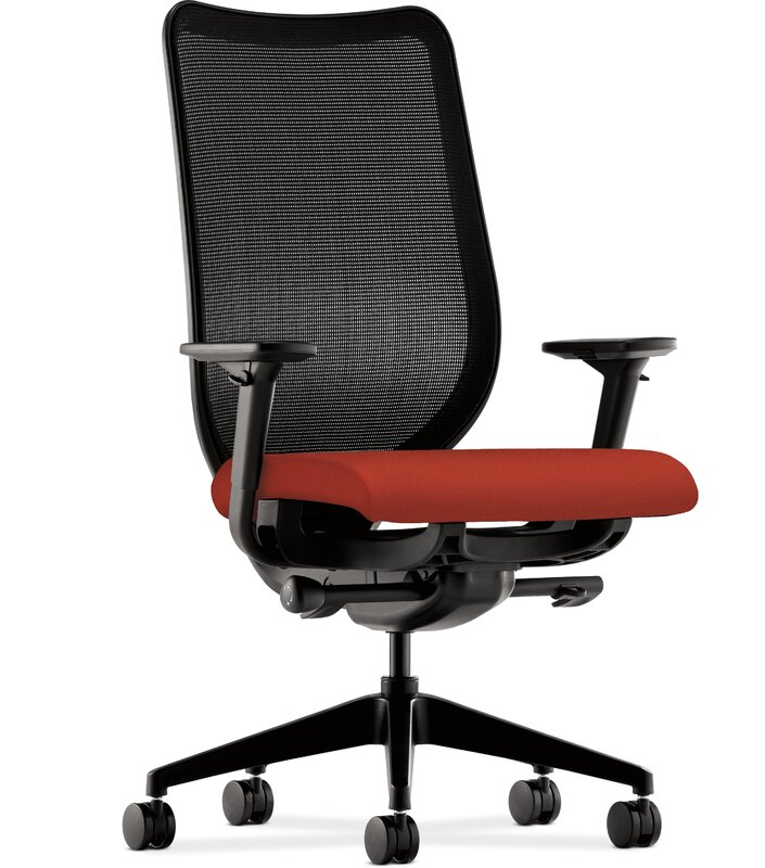 hon nucleus series high-back mesh desk chair | wayfair