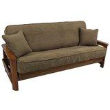 Housse pour futon à coussins carrés/rectangulaires
