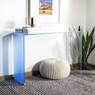 Euphemia Ombre Glass Console Table