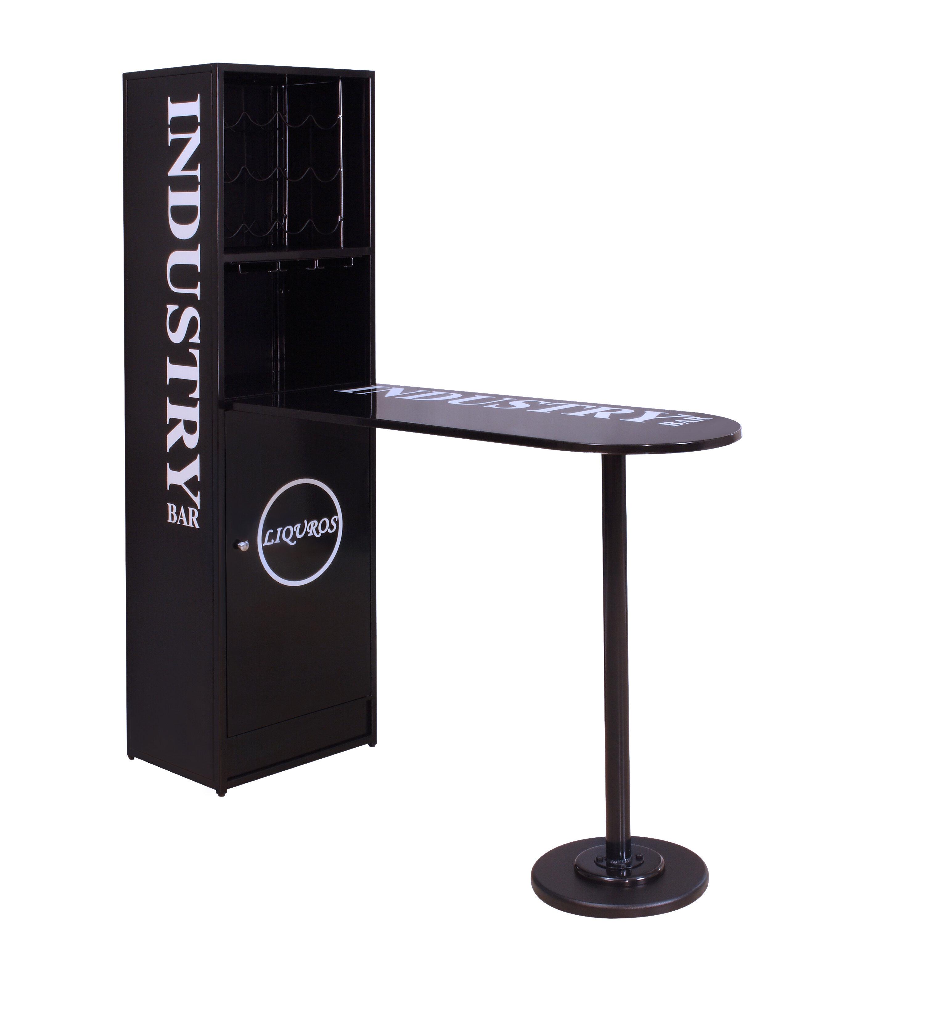 Madson Bar Set With Wine Storage