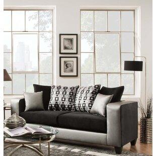 Latitude Run Belington Shimmer Sofa