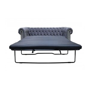 Sade 3 Seater Chesterfield Sofa Bed By Willa Arlo Interiors