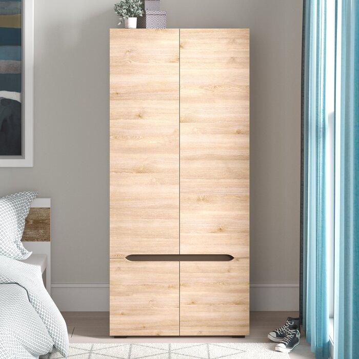 Brokaw Storage Closet Wardrobe Armoire