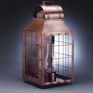 Price comparison Livery 1-Light Outdoor Flush Mount By Northeast Lantern