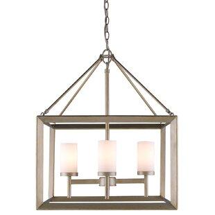 Modern foyer pendant lighting allmodern thorne 4 light hanging foyer pendant aloadofball Gallery