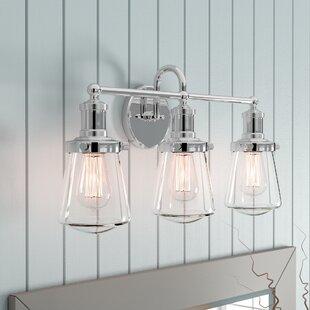 Beachcrest Home Mulvaney 3-Light Vanity Light