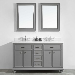 Weisner 60 Bathroom Vanity Set with Mirror by Alcott Hill