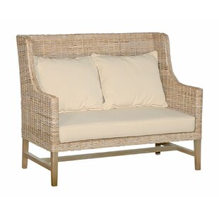 Nell High Back Loveseat by Highland Dunes