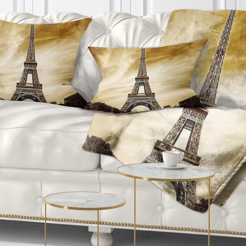 Outstanding Landscape Photography Paris Eiffel Towerin Shade Lumbar Pillow Short Links Chair Design For Home Short Linksinfo