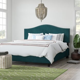 Affordable Price Mystere Nail Button Upholstered Panel Bed by Beachcrest Home Reviews (2019) & Buyer's Guide